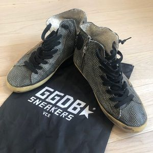 Golden Goose Deluxe Brand High Top Sneakers